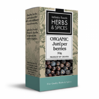 Infinity Foods Organic Juniper Berries 30g
